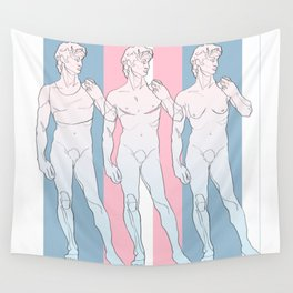 Trans David Wall Tapestry