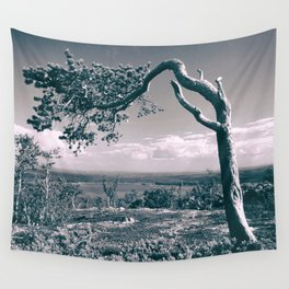 PIne in the mountains Wall Tapestry