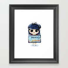 Sherlock 4 on 2017 Framed Art Print