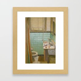In The Morning Framed Art Print