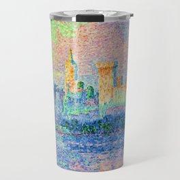 "Paul Signac ""Palais des Papes Avignon"" Travel Mug"