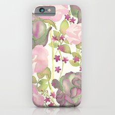 Autumn Bouquet - Kale & Rose iPhone 6s Slim Case