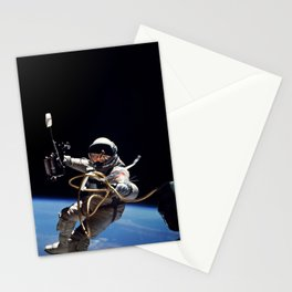 Astronaut : First American Spacewalk 1965 Stationery Cards