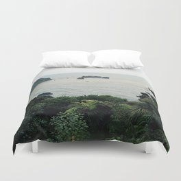 New Zealand Coast Duvet Cover