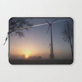 Airlines in Sunrise Laptop Sleeve