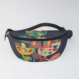 Wild Flowers Fanny Pack