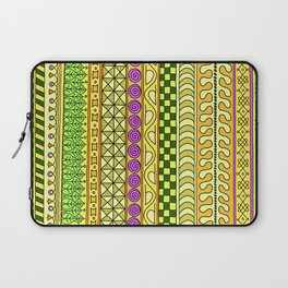 Yzor pattern 011 Yellow Things Laptop Sleeve