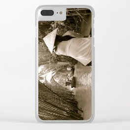 Tributary of the Mekong Delta, 60th Clear iPhone Case
