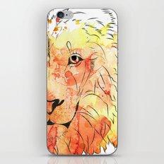 Watercolor Lion iPhone & iPod Skin