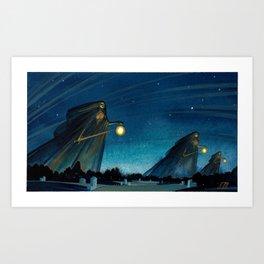 The Night Patrol Art Print