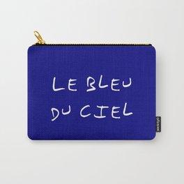 Le bleu du ciel - blue sky Carry-All Pouch