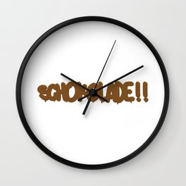 SCHOKOADE Wall Clock