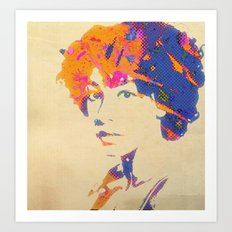 Ode To Corrine Art Print