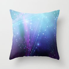 Fly Lines Throw Pillow