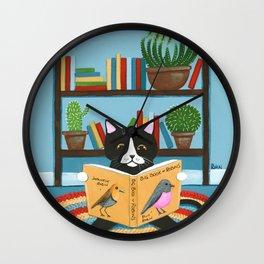 The Little Reader Wall Clock