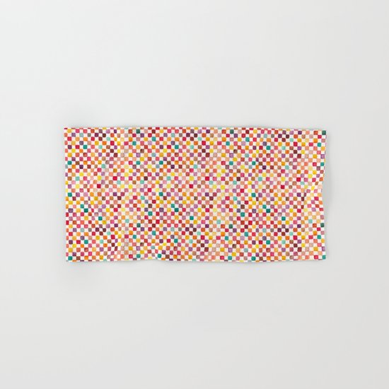 Klee Pattern Hand & Bath Towel