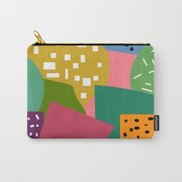 Bright shapes Carry-All Pouch