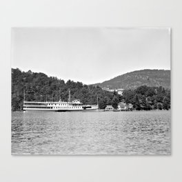 Sagamore Steamboat, 1900-1910 Canvas Print