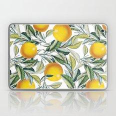 Lemon and Leaf Pattern VI Laptop & iPad Skin
