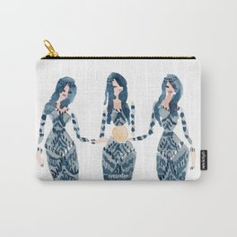 THE MOTHERS OF PEARL // 12 Days of Mermaids Series Carry-All Pouch