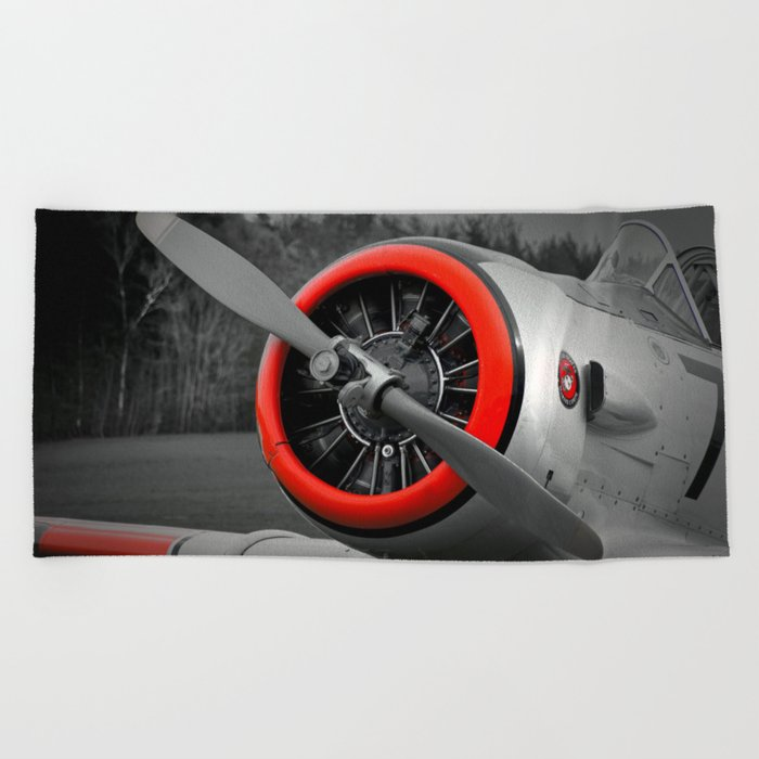 Airplane Beach Towel