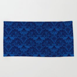 Stegosaurus Lace - Blue Beach Towel