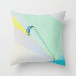 human edge #4 Throw Pillow