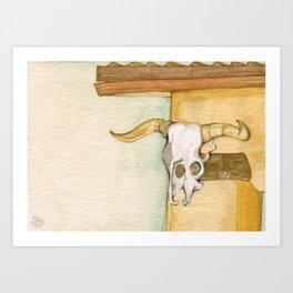 Ghost Ranch #5 Art Print