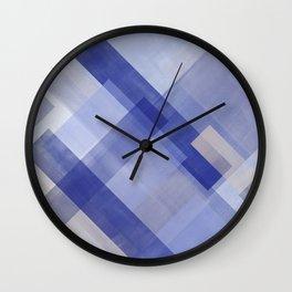 Untitled No. 6   Violet + Lavender Wall Clock