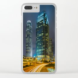 HONG KONG 25 Clear iPhone Case
