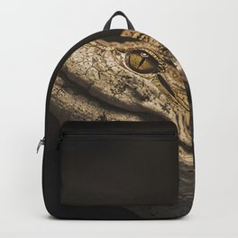 West African Crocodile Backpack