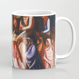 Mexican Revolution Zapatistas — Zapata's followers on the march painting by Jose Clemente Orozco Coffee Mug