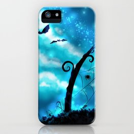Spider's Enchanted Night iPhone Case