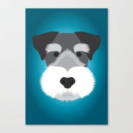 Miniature Schnauzer  Canvas Print
