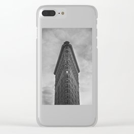 Flat Iron Building - New York Clear iPhone Case