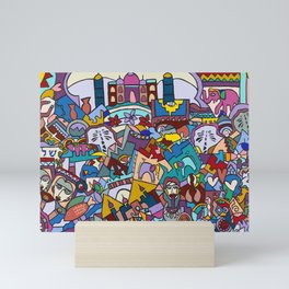 Hello-Goodbye-Peace Mini Art Print