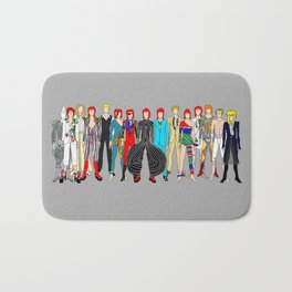 Gray Heroes Group Fashion Outfits Bath Mat