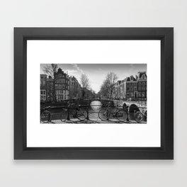 Amsterdam normal Framed Art Print