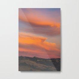 Try to look away Sky Metal Print