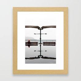 Double symmetry Framed Art Print