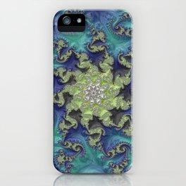 Moss Island Fractal Art iPhone Case