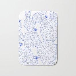 Cactus 55 blue Bath Mat