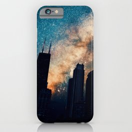 Chicago Starry Night iPhone Case