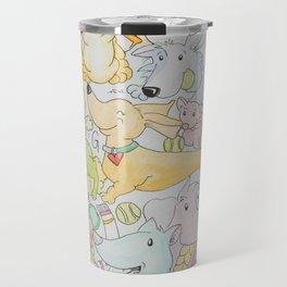 Gang of Doggos Travel Mug