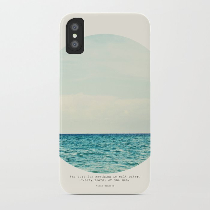 Salt Water Cure iPhone Case