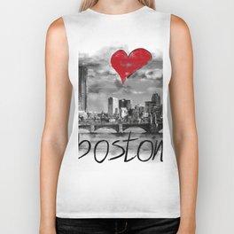 I love Boston Biker Tank