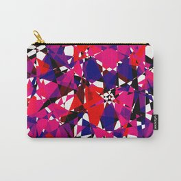Abstract Colorful Broken Fragment Carry-All Pouch