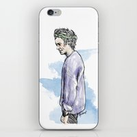cyrilliart iPhone & iPod Skins featuring Lilac Haz by Cyrilliart