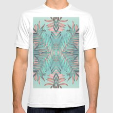 JUNGLE VIBES Mens Fitted Tee White MEDIUM