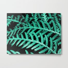 Bracken Fern - Digital Oil Painting Metal Print